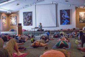 Vin-Nidra Yoga with Forest Bath @ Fernwood Botanical Garden